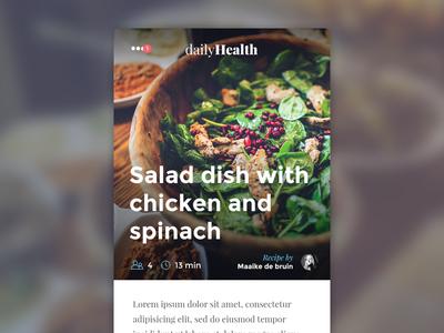 Daily Health app
