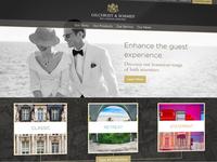 Gilchrist & Soames Hotelier Website