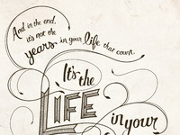 Life in your years full