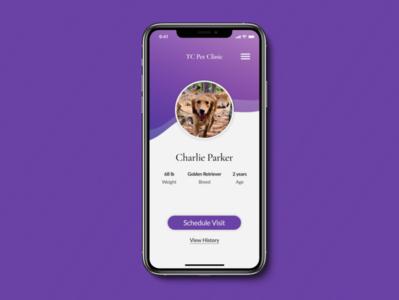 Daily UI #006 – Profile user profile profile dailyui006 dailyui minimal ui mobile design app