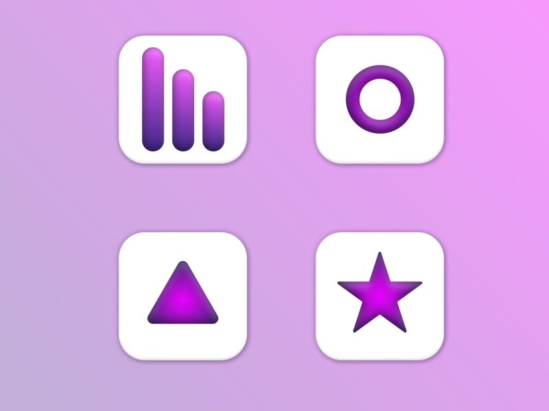 Daily UI #005 – App Icon dailyui005 icon dailyuichallenge dailyui mobile figma ux minimal app ui design