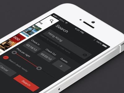 Savvymob app android clean dark ios mobile