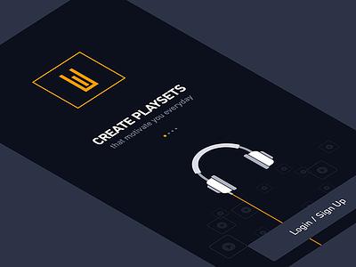 Engage - Walkthrough clean dark vector music walkthrough iphone