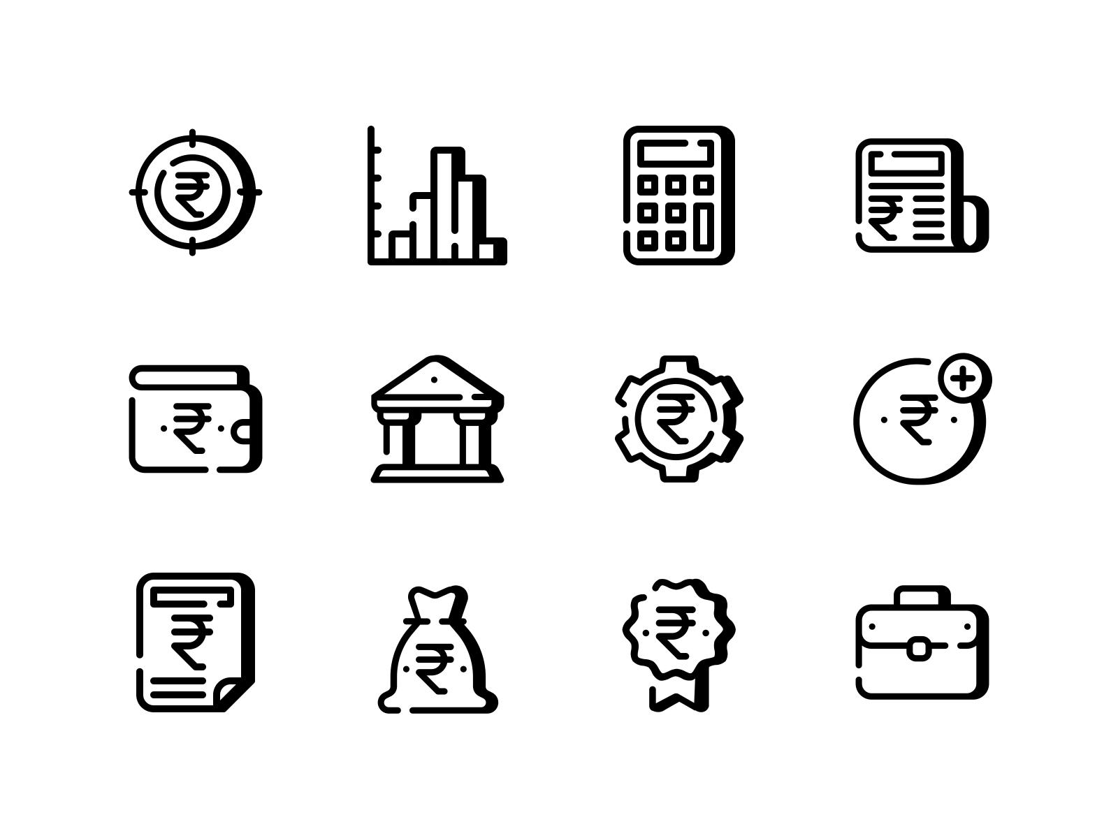 Finance Tiny Iconpack