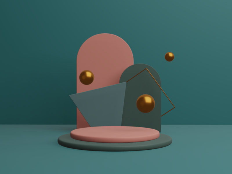 Learning 3D — Exp. 02 design blender 3d