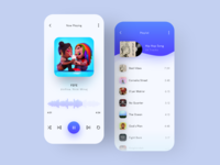 Music App Design ios app design ios app application app design app ui designer uidesign ui uiux music music application music app design music app ui music player music app