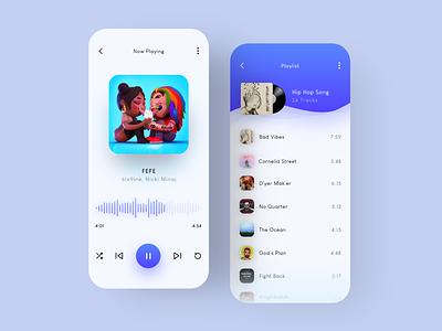 Music App Design ios app design ios app application app design app ui designer uidesign ui uiux music music application music app design music app ui music player music app