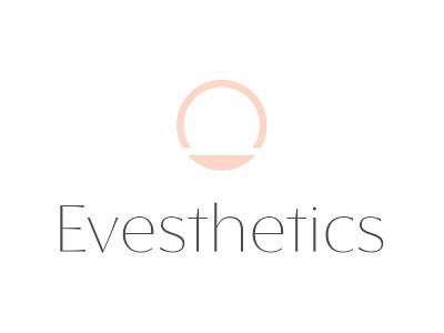 Evesthetics brand okc icon identity branding logo
