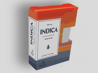 Mammoth Indica Packaging identity branding logo package design canabis marijuana medical