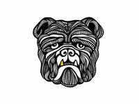 Bulldog Illustration
