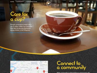 UI/UX Design for a Coffee Shop Company