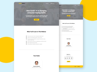 Group Renault Romania Webinar Landing Page - Template 2020 covid-19 landing page corporate webinar romania webdesign ui minimal automation startup marketing recruitment web design clean
