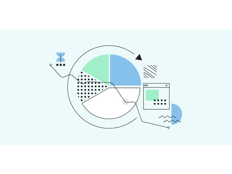 How Your ATS Can Help (or Hurt) Your Recruitment Marketing bauhaus memphis banner blog blog header blog post minimal clean marketing recruitment startup automation flat vector illustration web design
