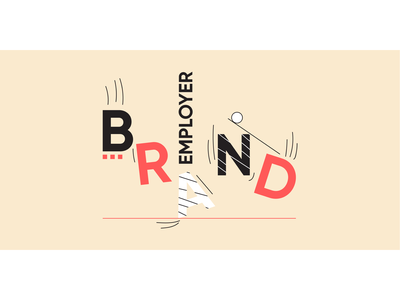 What is Employer Brand Gravity (and Why Should You Care)? gravity employer brand blog banner memphis recruitment marketing clean bauhaus startup minimal blog post blog header automation vector flat web illustration design