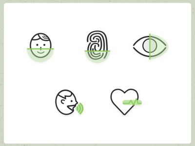 Biometric Icons