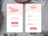Daily UI – No. 1: Sign Up