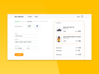 Daily UI – No. 2: Credit Card Checkout