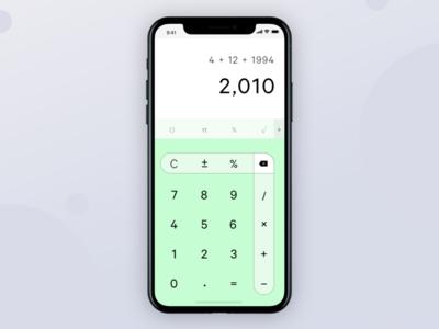 Daily UI – No. 4: Calculator