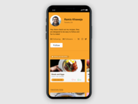 Daily UI – No. 6: User Profile
