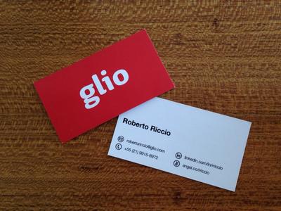 Glio Business cards