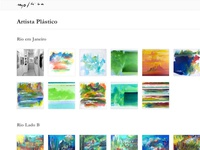 Orlando Mollica's website paintings page