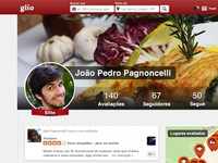 Glio New Profile Layout Psd