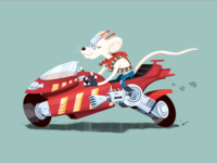 Biker Mice from Mars - Vinnie