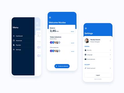 PayFit - App Mobile payfit design app mobile ui ux