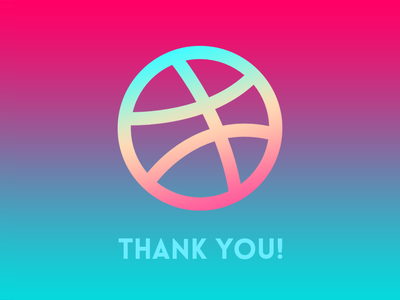 My sincerest thanks to Mahamud Hassan for the Dribbble invite!