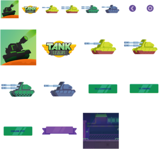 New tank practice game kit for Tank Stars