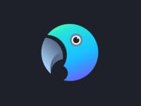 Parrot icon (dark) | Weekly Warm-ups