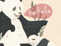 Pandas do the funniest things