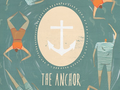 The Anchor Coffee House illustration the anchor manchester swimmers anchor