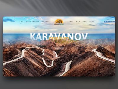 Karavanworld webdesign