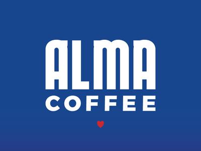 Alma Coffee Logo Type