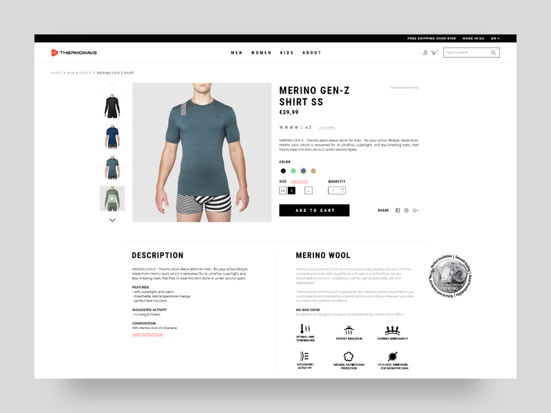 Baselayer's Eshop Product Page