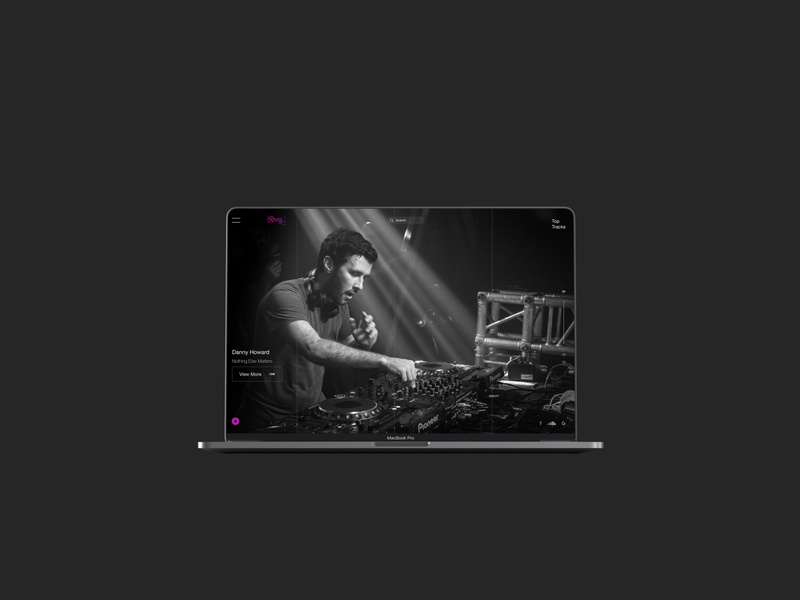 Radio Nova -  Just Listen! Web design