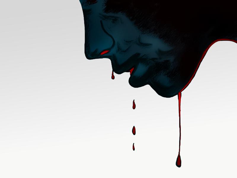 "Surrealistic digital artwrok ""Emotional pain"""