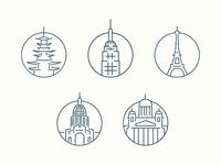Global City Icons