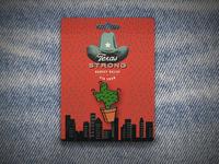 Texas Strong Enamel Pin - Prickly Care Cactus