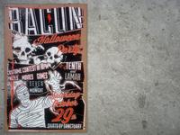 Bacon Restaurant Halloween Poster