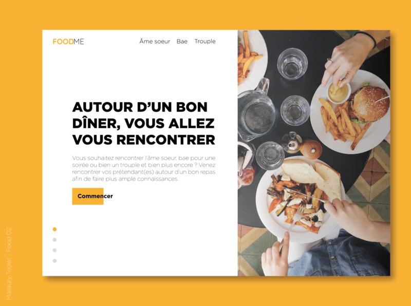Food-02 web design ui food