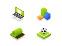 Icons for Football Federation (soccer) website