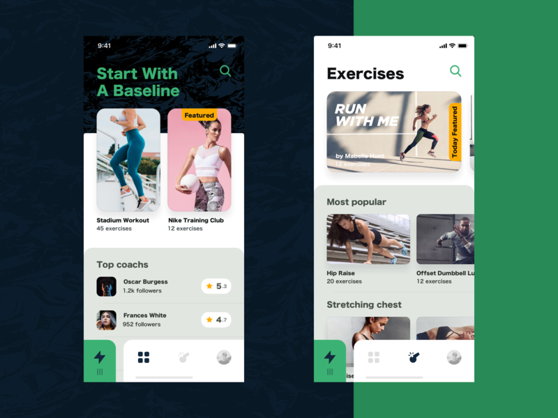 Coach Fitness App