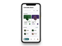 Cannabis Store Design Concept