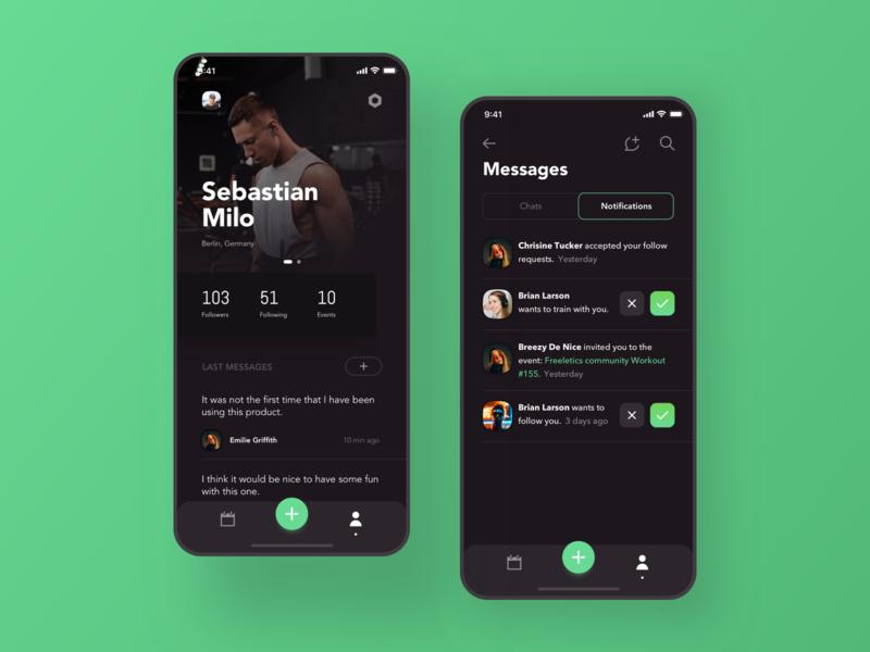 Fitness App part 2