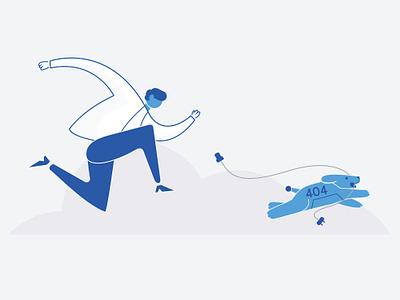 Error 404 spot illustration error 404 error freshchat freshworks empty states illustration