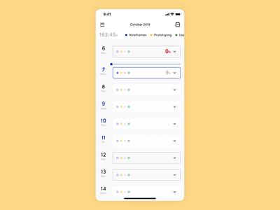 Wieprzuga Mobile flat minimal side menu webdesign user interface design user interface design web dashboard platform interface ui app ux animation redesign rebranding