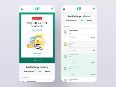 JTI Mobile App