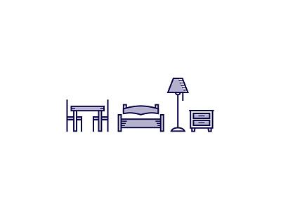 Furniture icons furniture